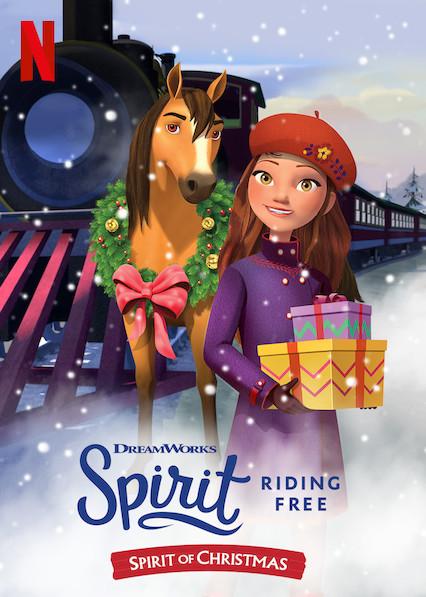 Spirit Riding Free: Spirit of Christmas kapak