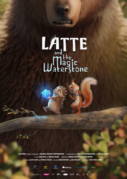 Latte & the Magic Waterstone kapak