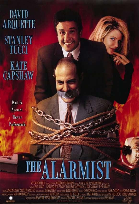 The Alarmist kapak