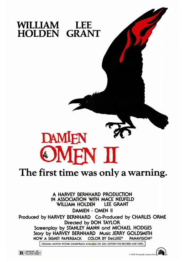 Damien: Omen II kapak