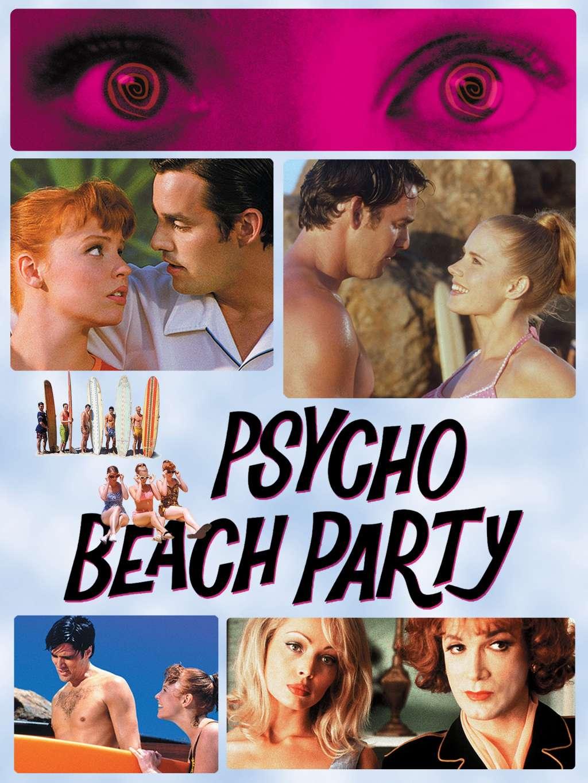 Psycho Beach Party kapak