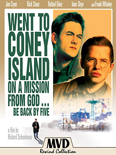 Went to Coney Island on a Mission from God... Be Back by Five kapak