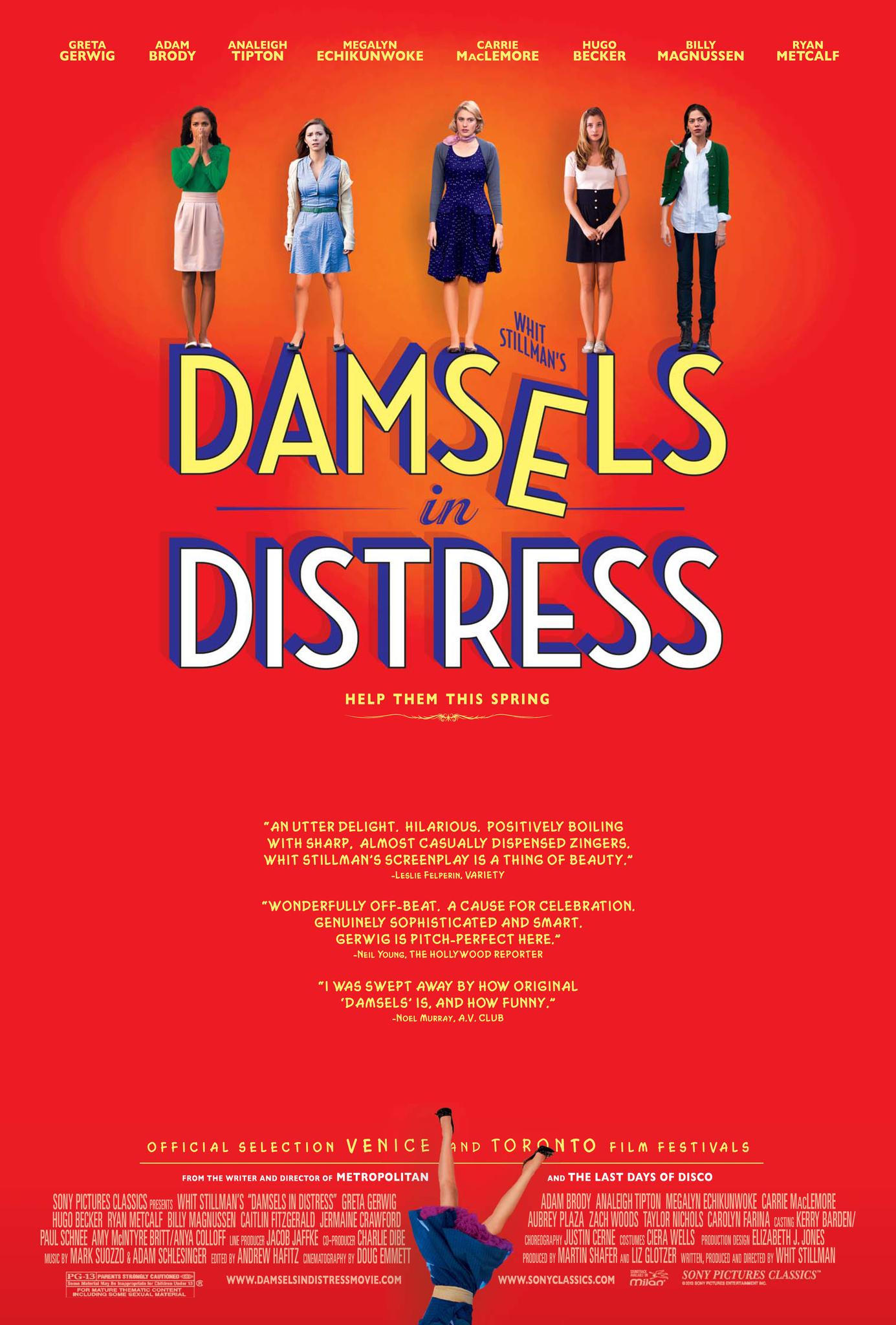Damsels in Distress kapak