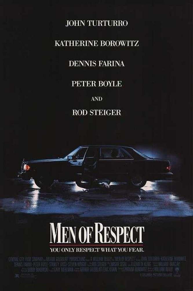 Men of Respect kapak