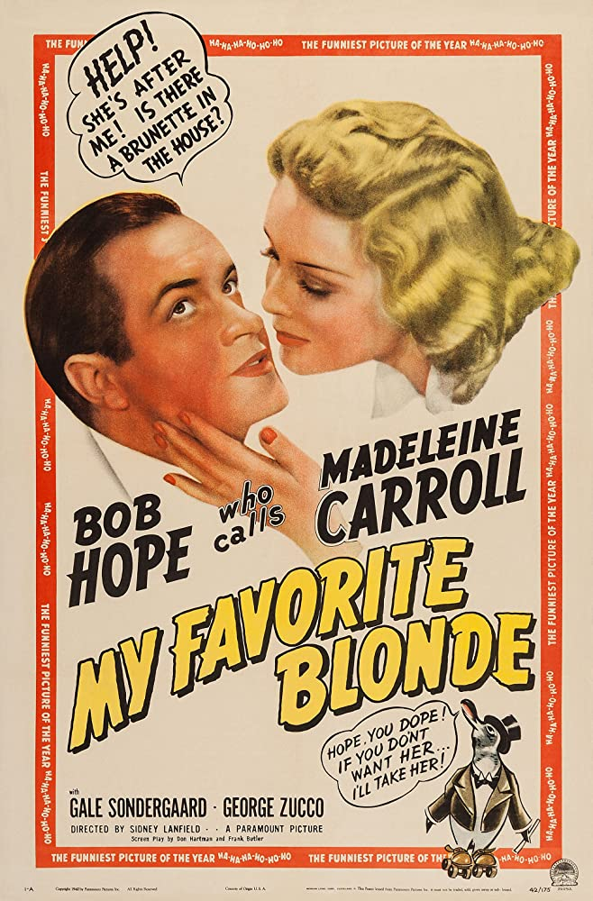 My Favorite Blonde kapak