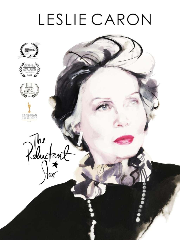 Leslie Caron: The Reluctant Star kapak