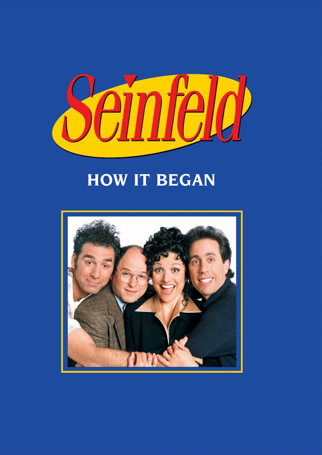 Seinfeld: How It Began kapak