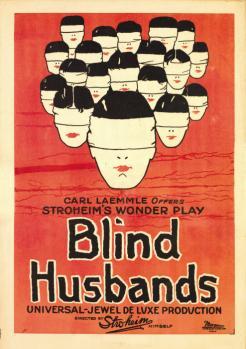 Blind Husbands kapak