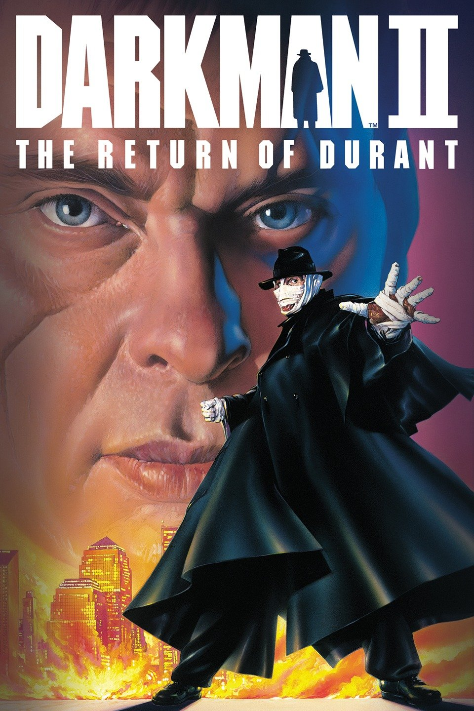 Darkman II: The Return of Durant kapak