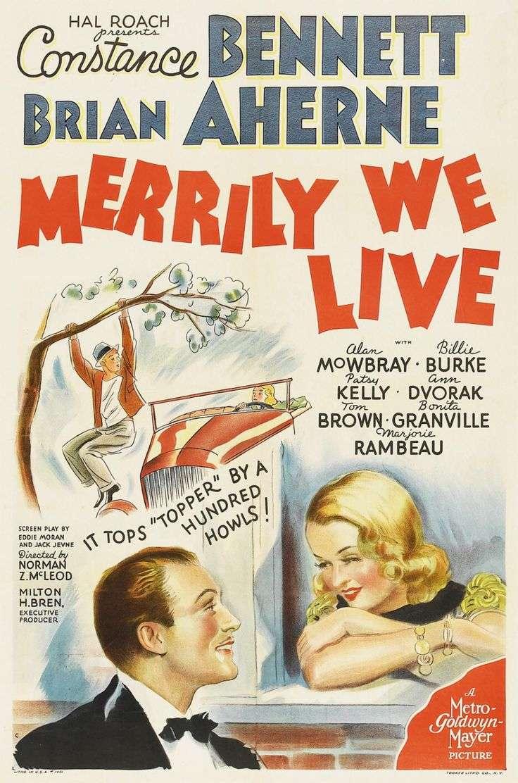 Merrily We Live kapak