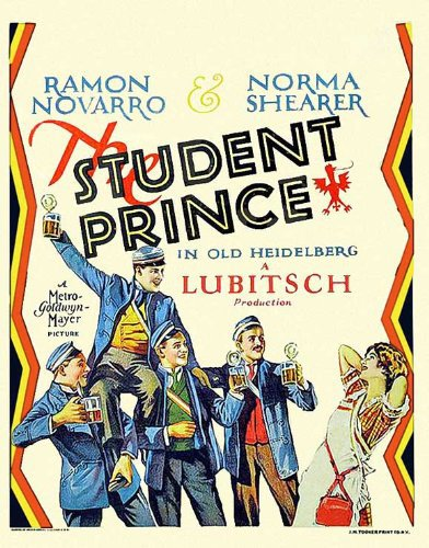 The Student Prince in Old Heidelberg kapak