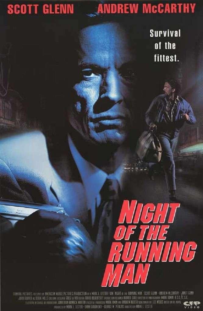 Night of the Running Man kapak