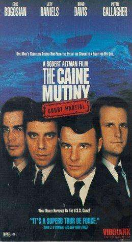 The Caine Mutiny Court-Martial kapak
