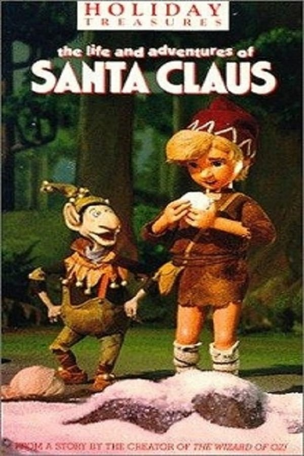 The Life & Adventures of Santa Claus kapak