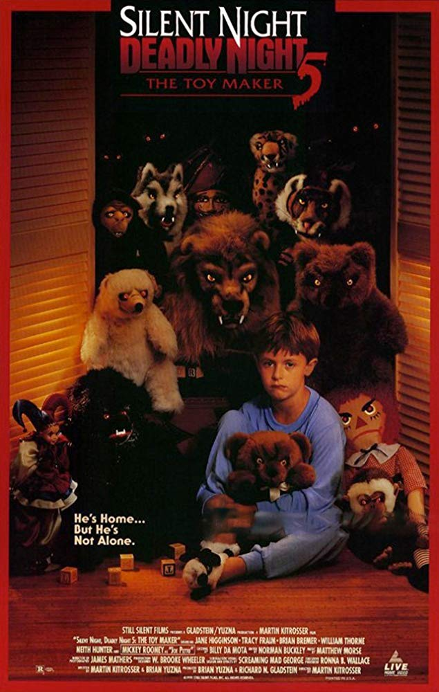 Silent Night, Deadly Night 5: The Toy Maker kapak