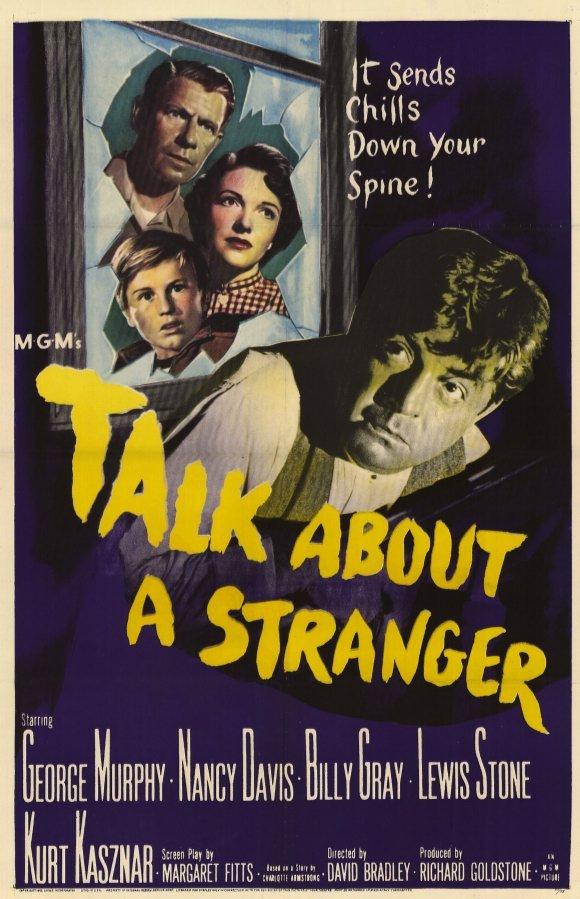 Talk About a Stranger kapak