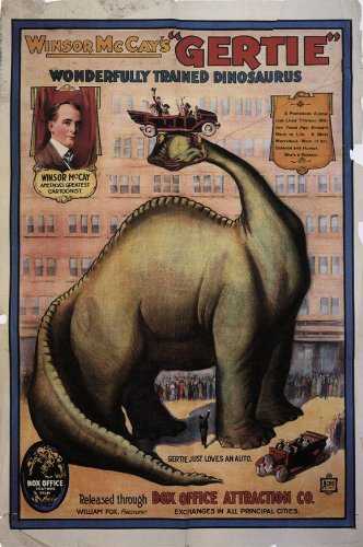 Gertie the Dinosaur kapak