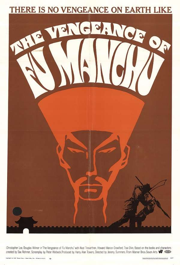 The Vengeance of Fu Manchu kapak