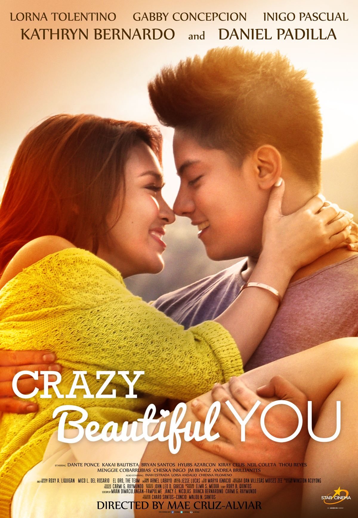 Crazy Beautiful You kapak