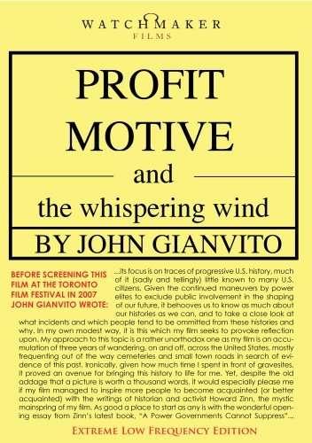 Profit Motive and the Whispering Wind kapak