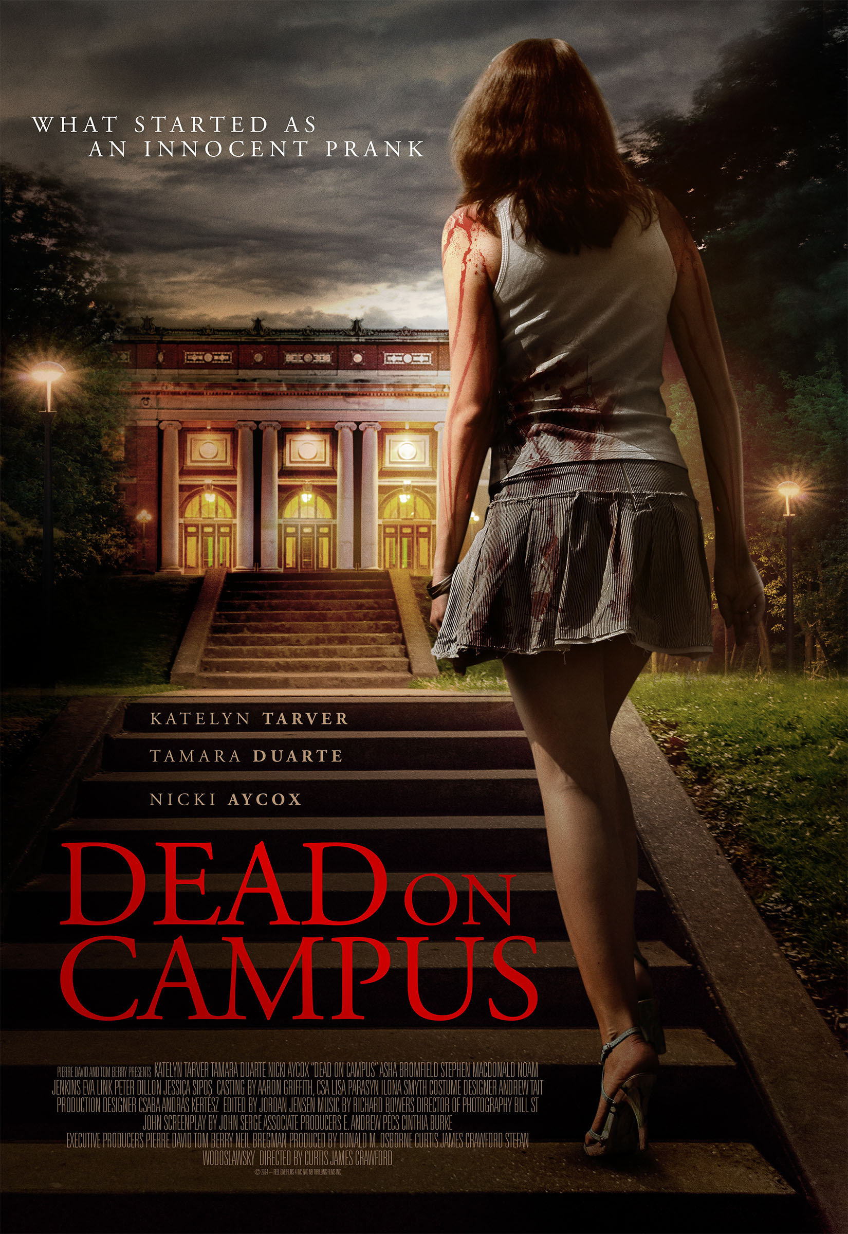 Dead on Campus kapak