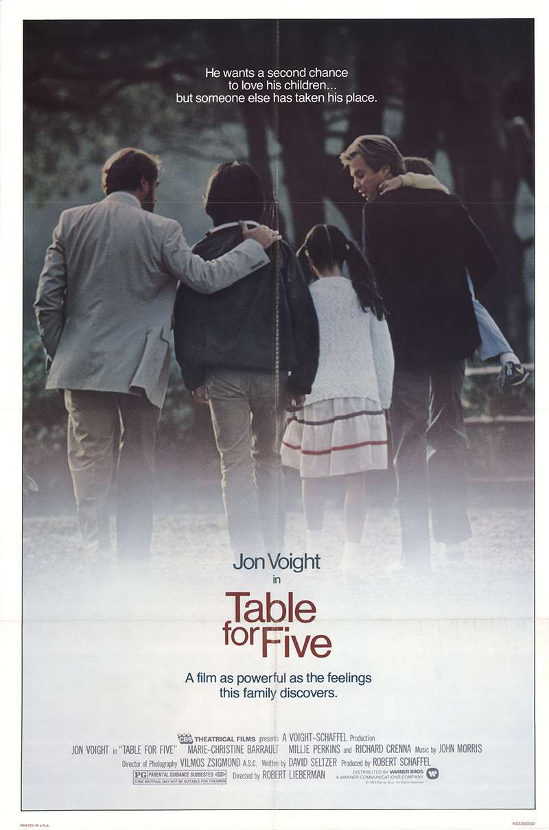 Table for Five kapak