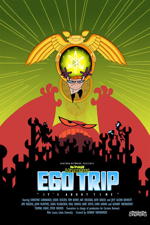 Dexter's Laboratory: Ego Trip kapak