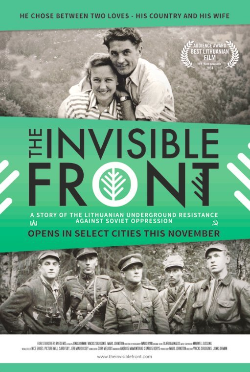 The Invisible Front kapak