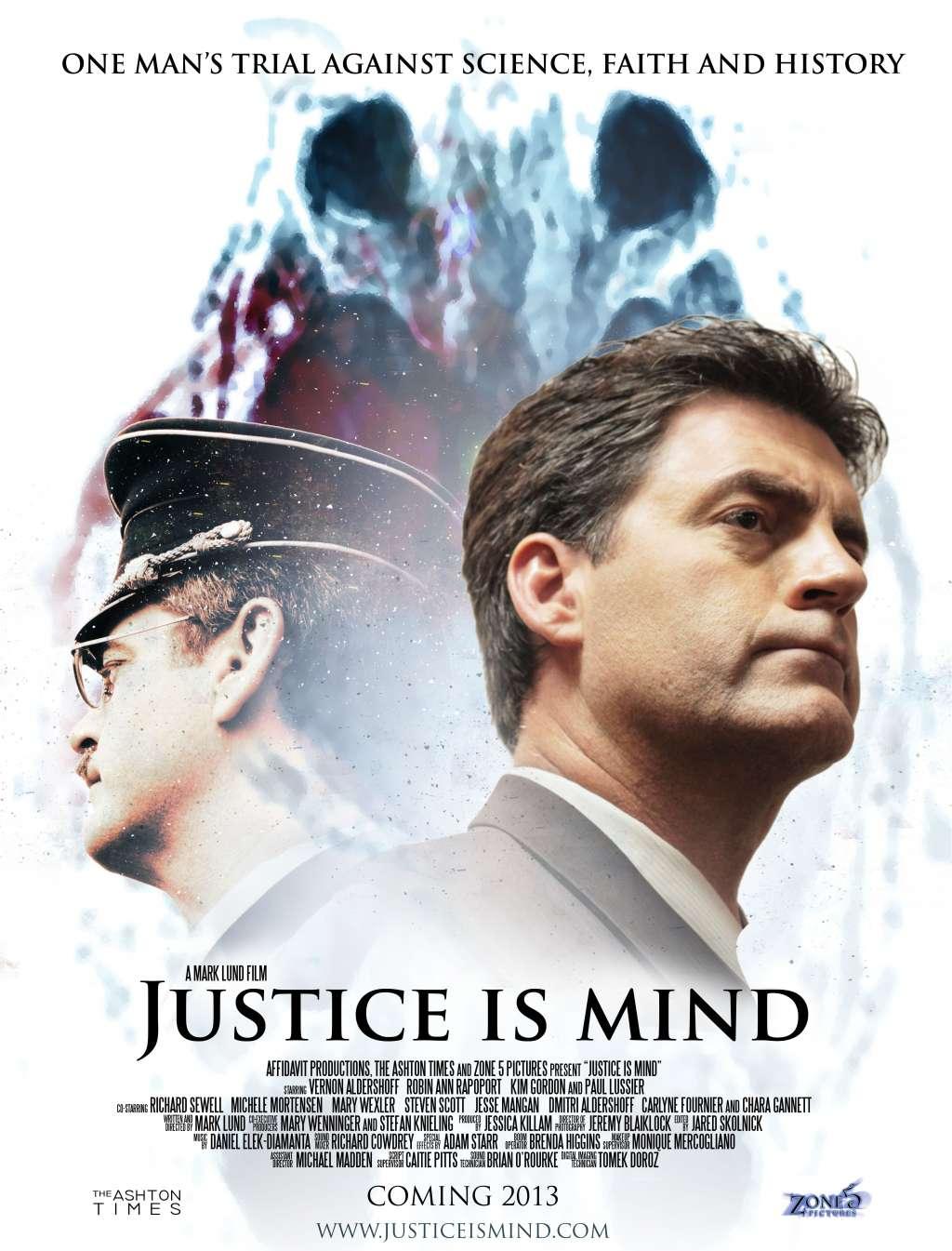 Justice Is Mind kapak