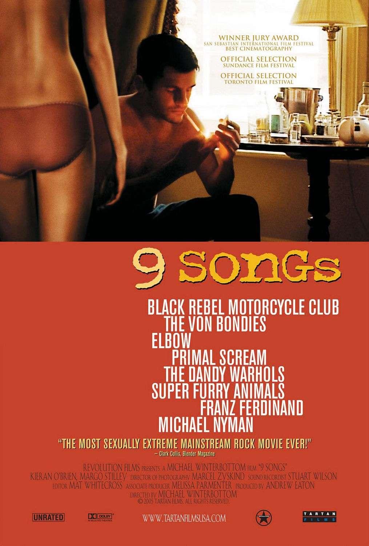 9 Songs kapak