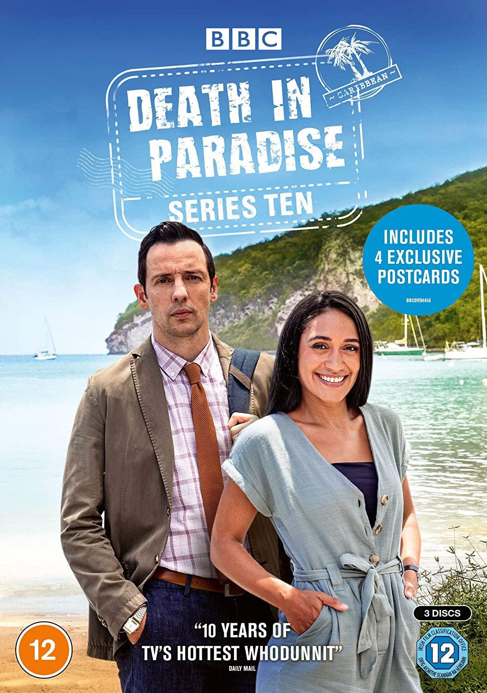 Death in Paradise kapak