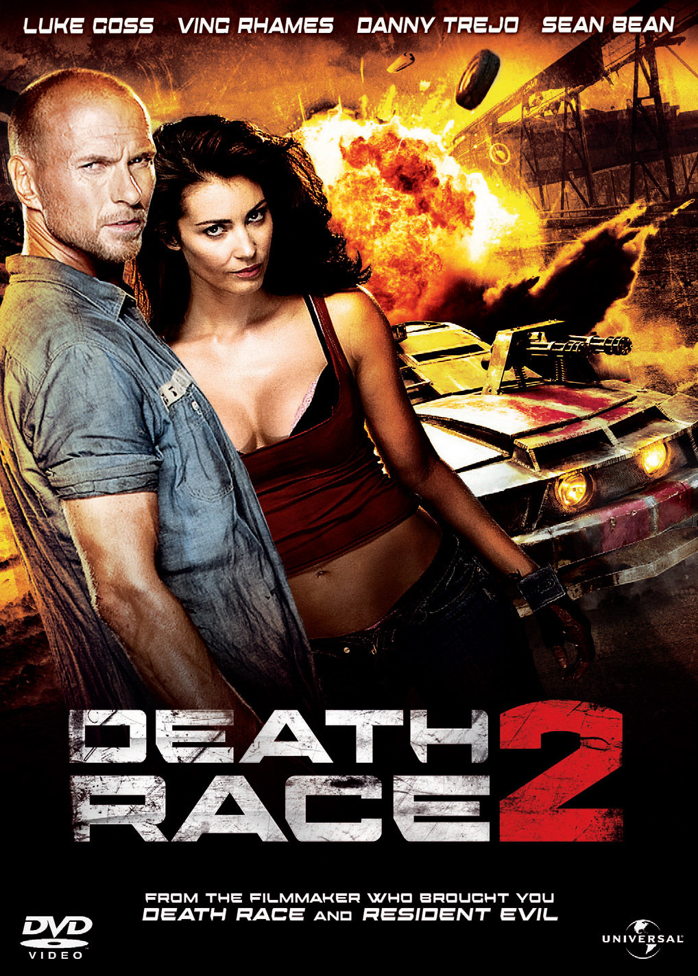 Death Race 2 kapak
