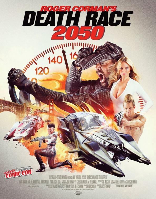 Death Race 2050 kapak