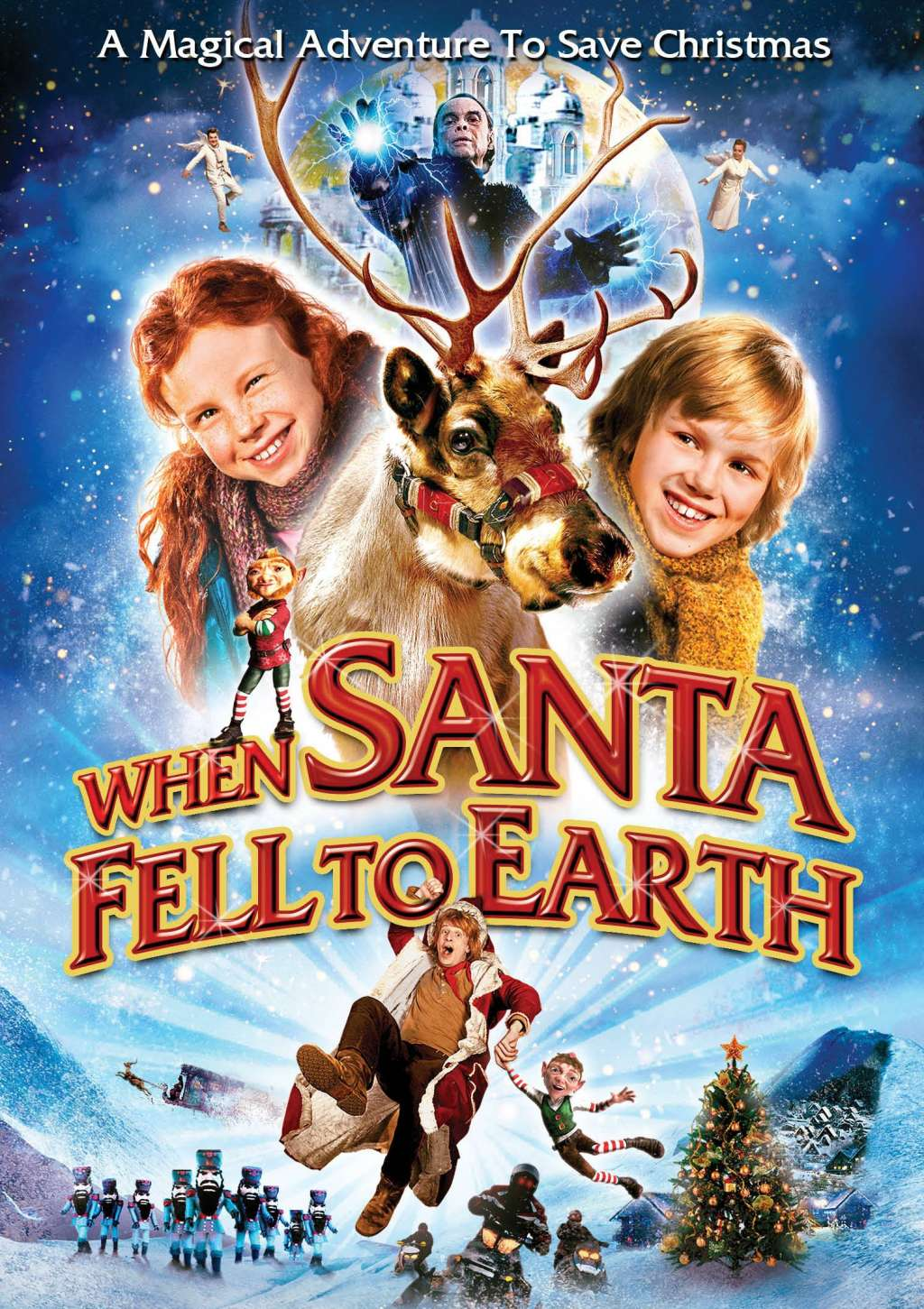 When Santa Fell to Earth kapak