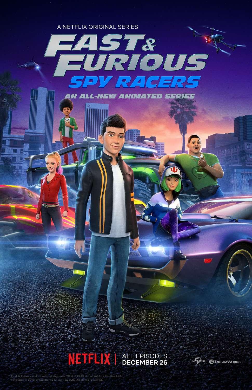 Fast & Furious Spy Racers kapak