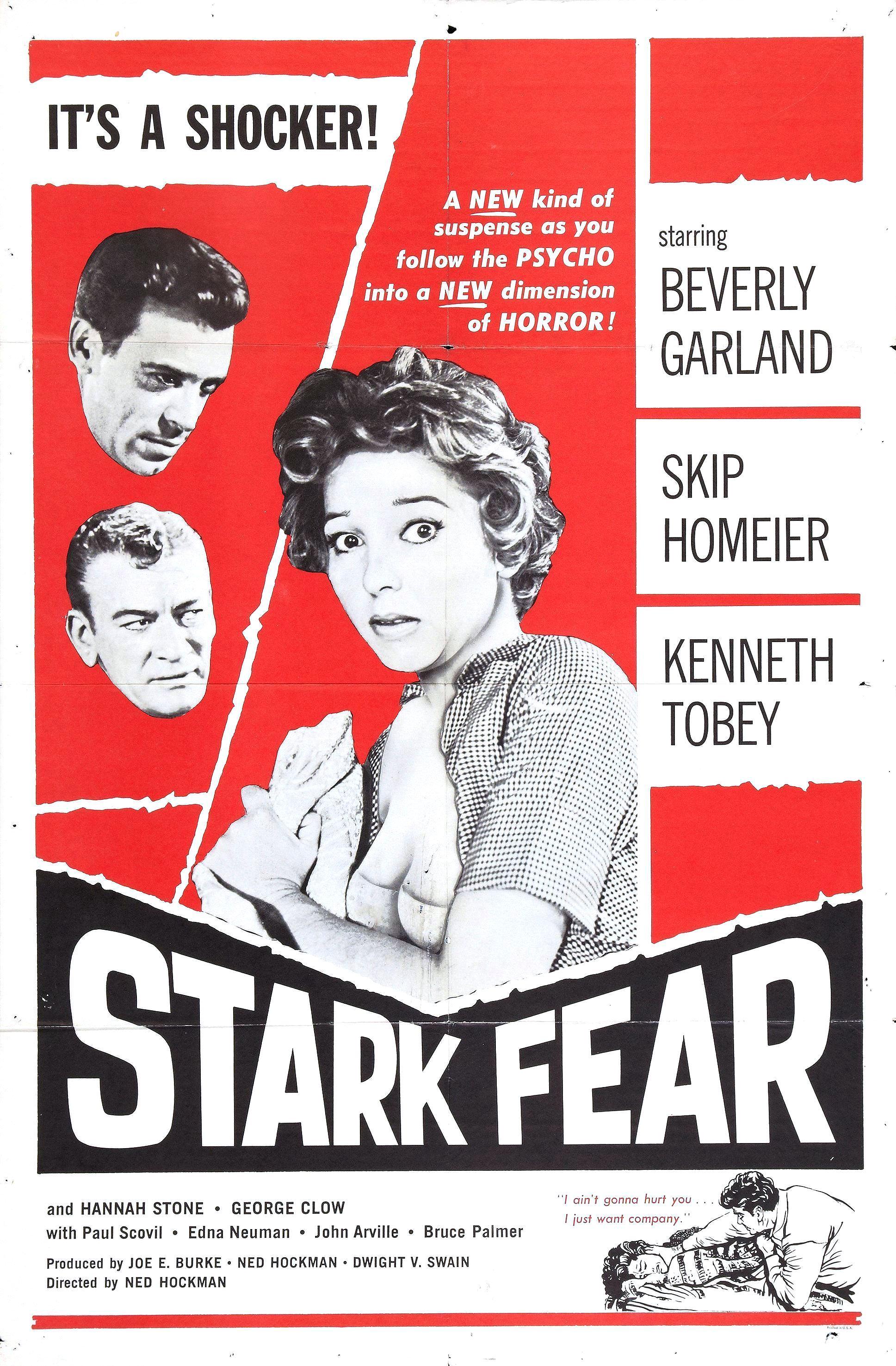 Stark Fear kapak