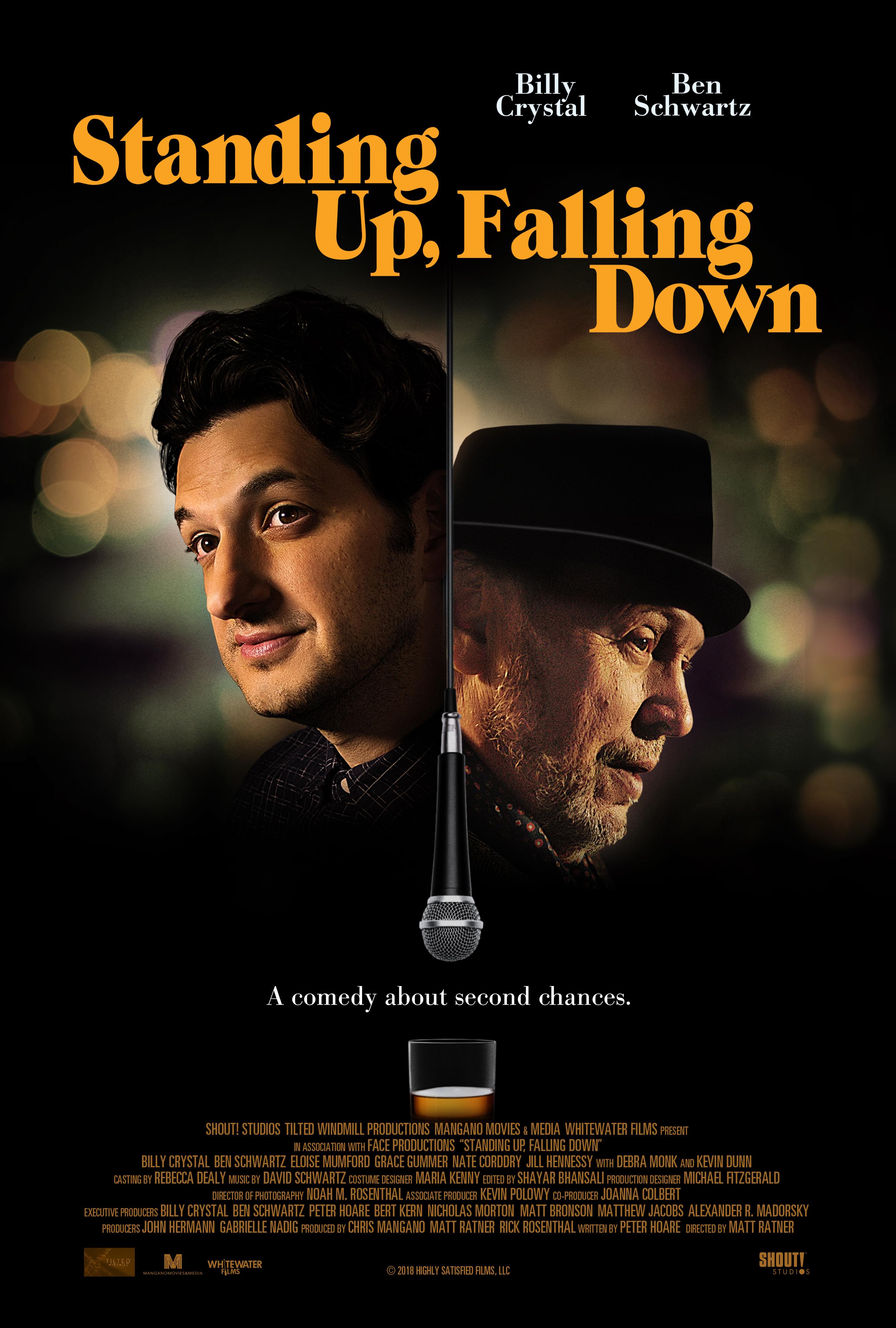 Standing Up, Falling Down kapak