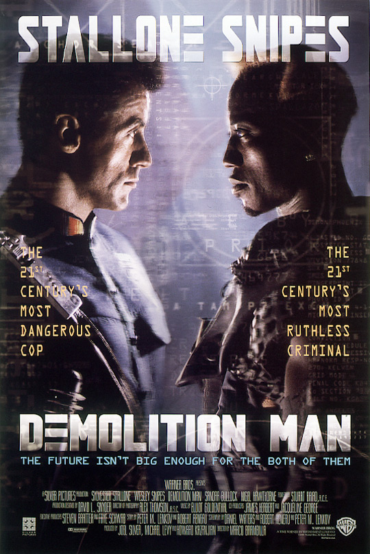 Demolition Man kapak