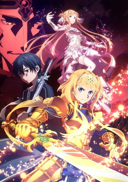 Sword Art Online: Alicization - War of Underworld kapak