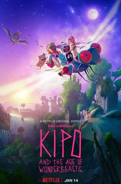 Kipo and the Age of Wonderbeasts kapak