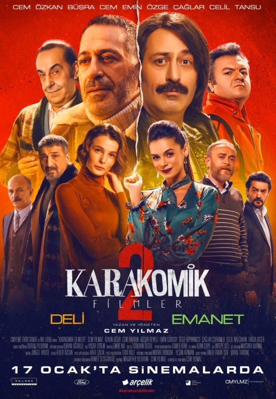 Karakomik Filmler 2 kapak