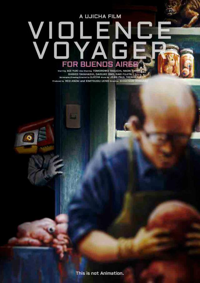 Violence Voyager kapak