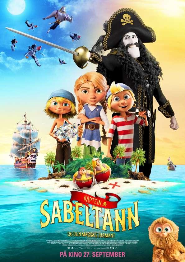 Captain Sabertooth and the Magic Diamond kapak