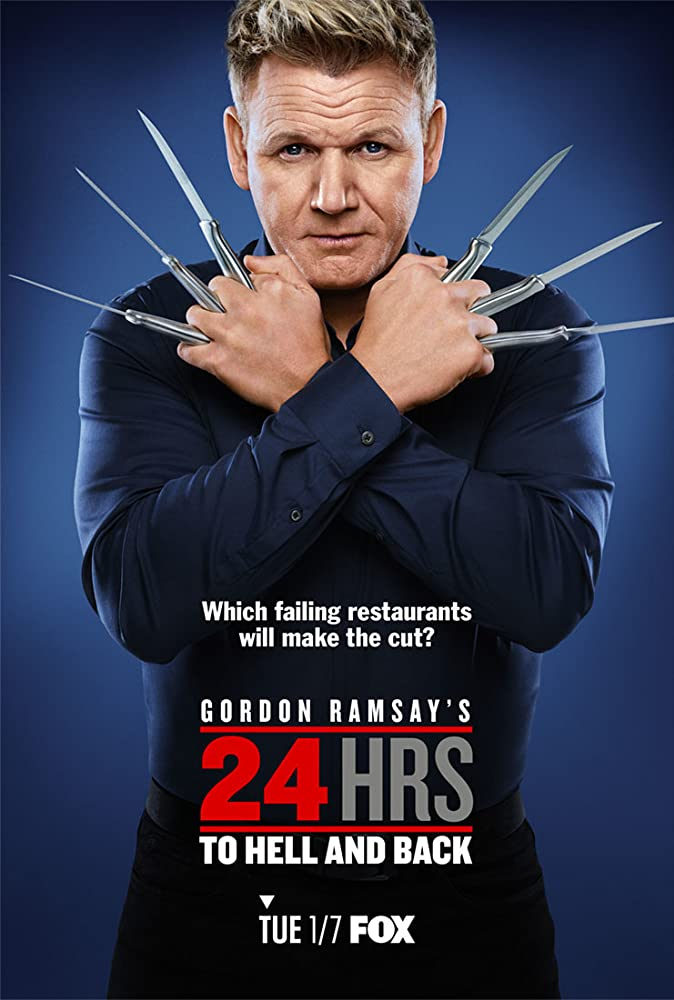 Gordon Ramsay's 24 Hours to Hell and Back kapak