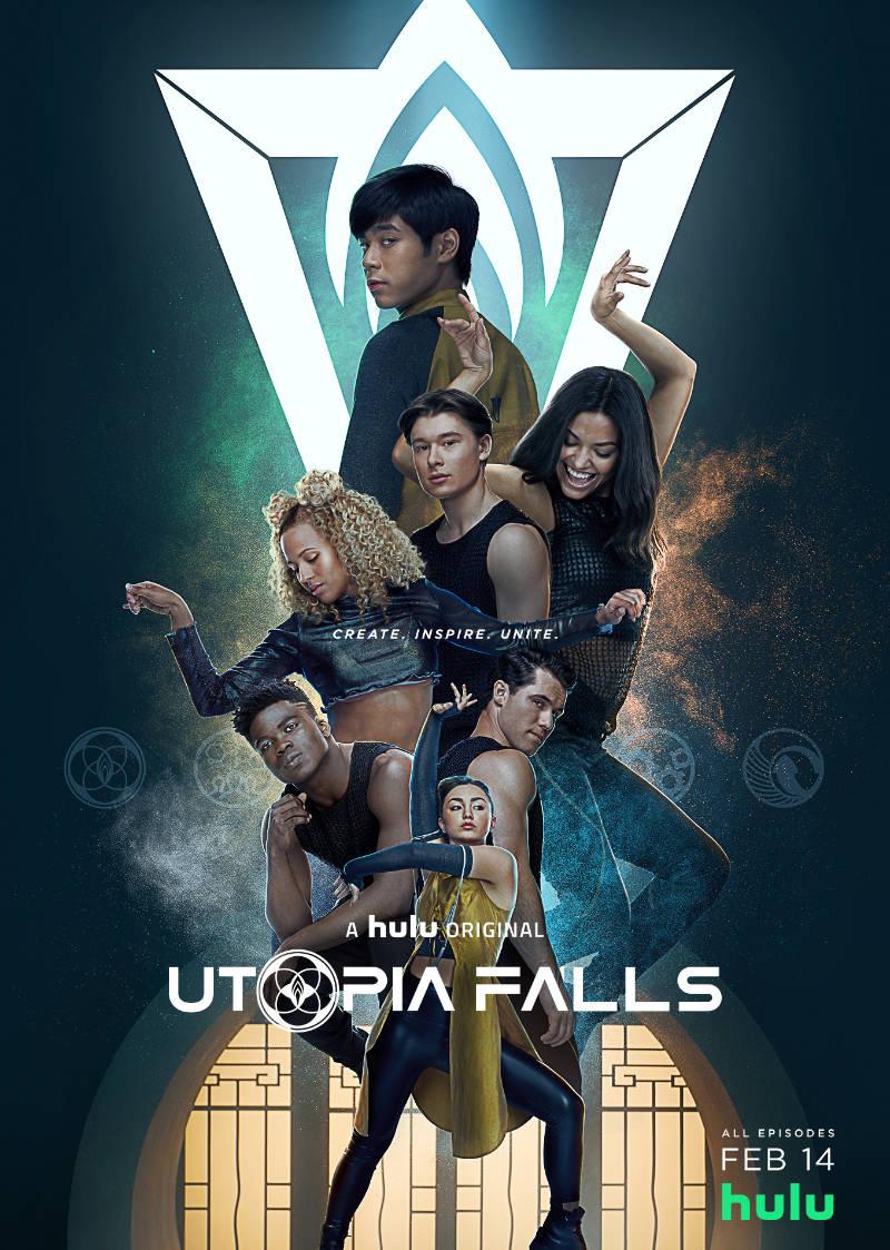 Utopia Falls kapak