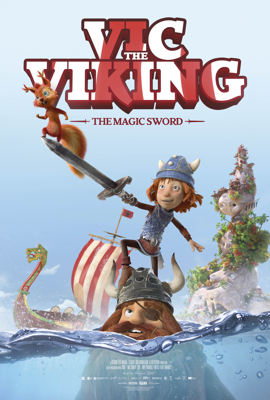Vic the Viking and the Magic Sword kapak