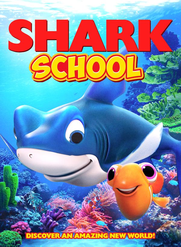 Shark School kapak