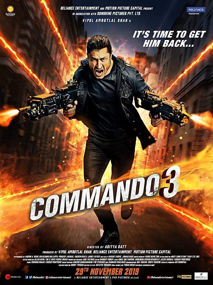 Commando 3 kapak