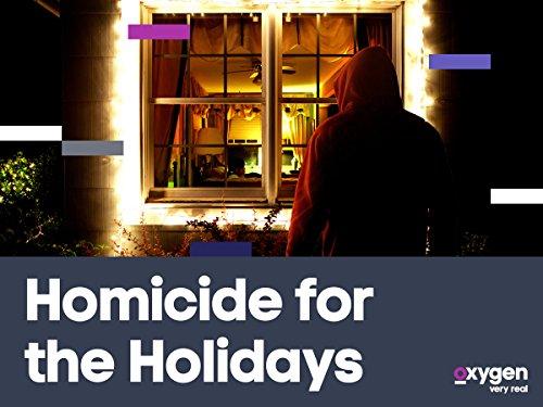 Homicide for the Holidays kapak