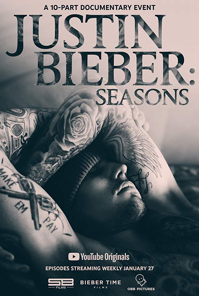 Justin Bieber: Seasons kapak